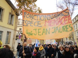 À Montpellier par milliers.