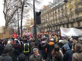 Le 5 décembre à Paris.