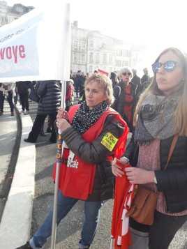 Dans la manifestation de Bayonne