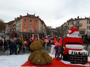 A Dignes, le 5 décembre.