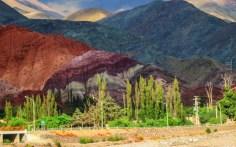 Cerro los sietes colores, Purmamarca
