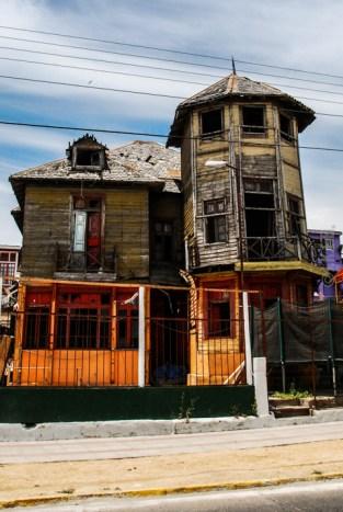 Αντιπροσωπευτικό δείγμα αρχιτεκτονικής στην περιοχή Isla Negra