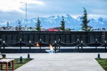 Μνημείο πεσόντων στον πόλεμο των νήσων Malvinas (ή Falklands όπως είναι γνωστότερα σε εμάς, κατά τους Άγγλους)