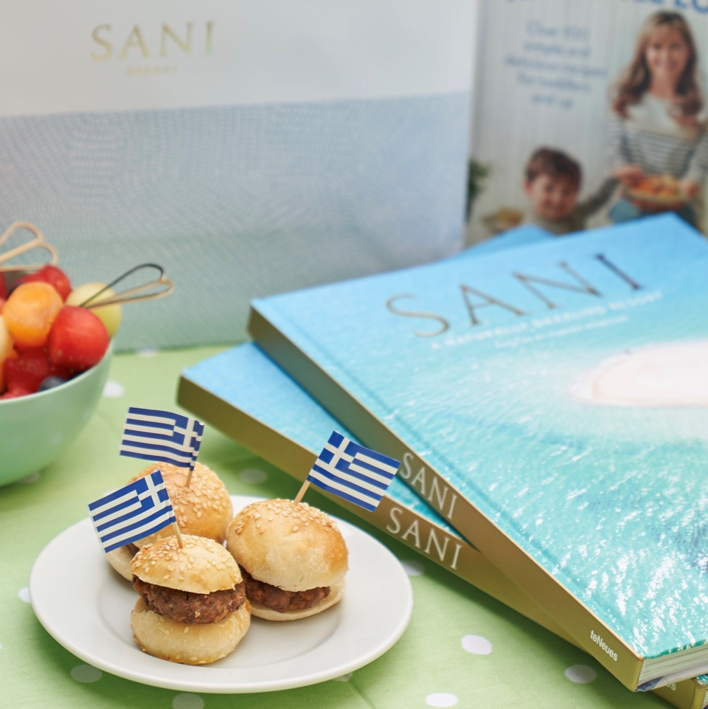 Annabel Karmel's kids menu for Sani Resort, Young Explorer Menu