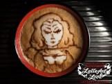 Latte Art - Klingon Female