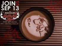 Latte Art Love - Basset Hound
