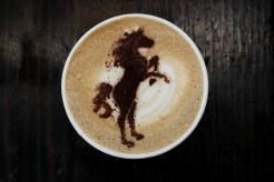 Latte Art Love - Horse