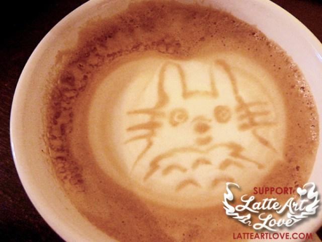 Latte Art - Anime - Totoro