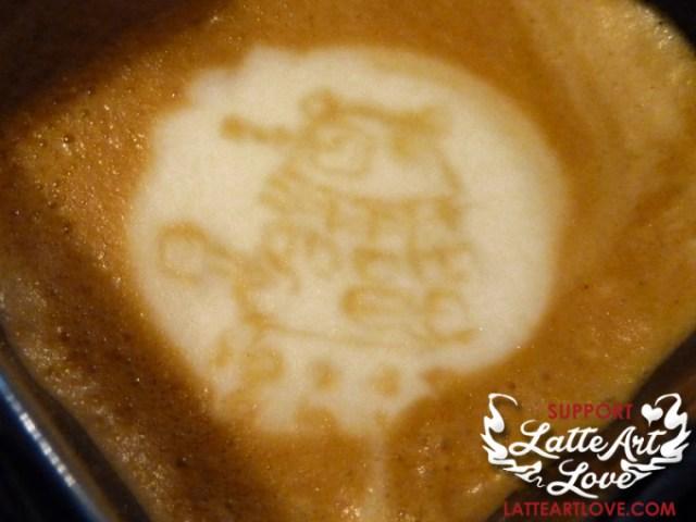 Latte Art - Doctor Who - Dalek