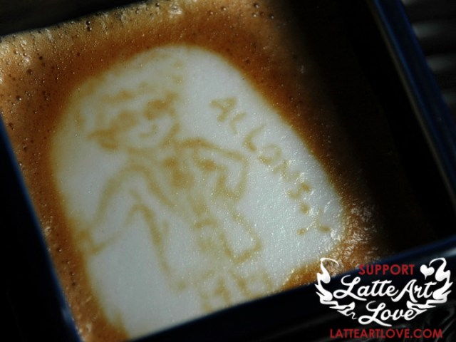 Latte Art - Doctor Who - The 10th Doctor