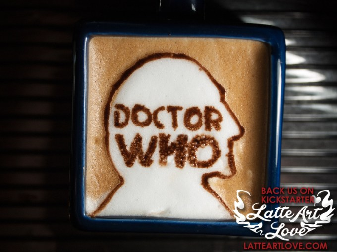 Latte Art - Doctor Who