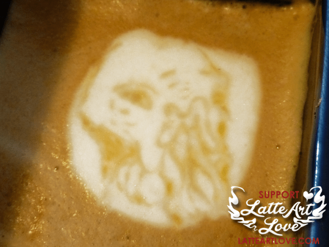 Latte Art - Doctor Who - The Ood