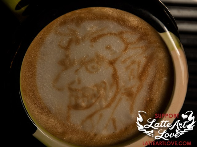 Latte Art - The Joker