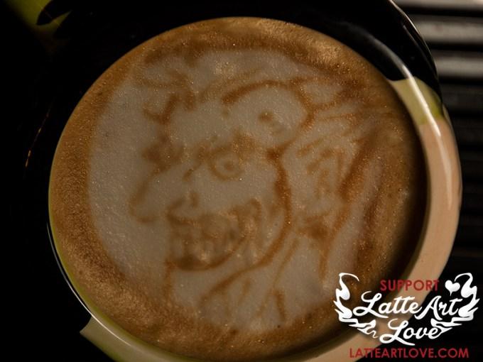 Latte Art - The Joker