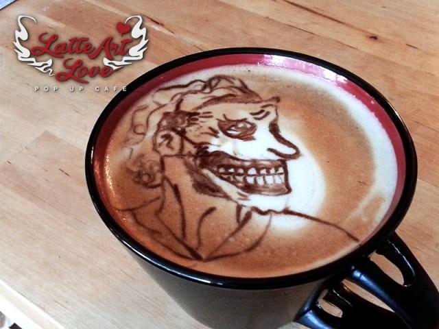 Latte Art Love - Joker