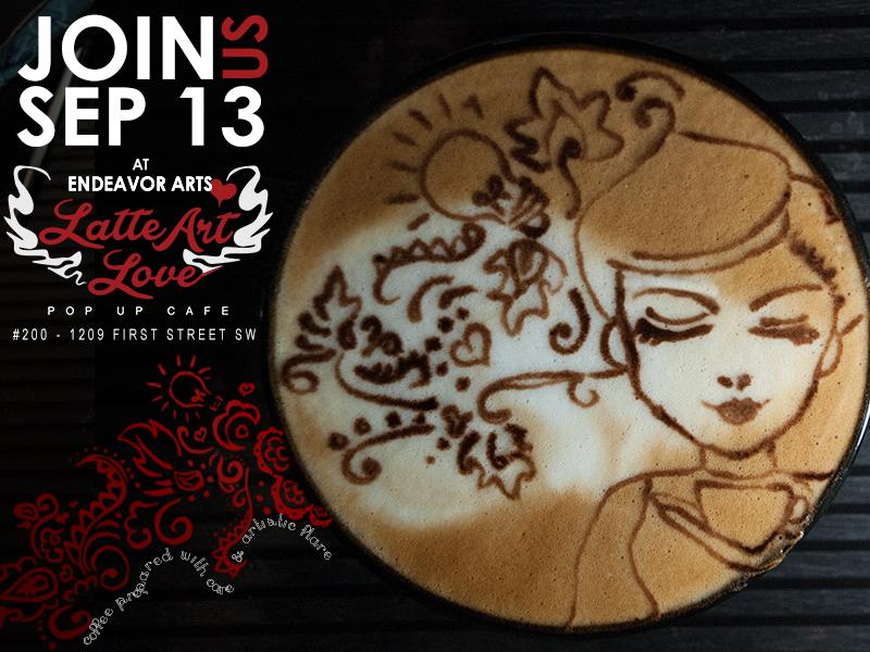 Latte Art - Logo Artwork