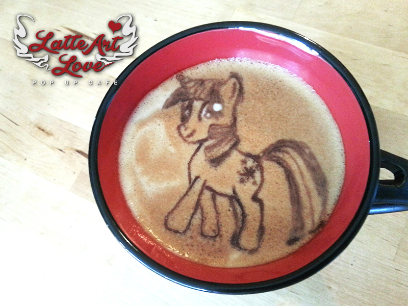 Latte Art Love - My Little Pony