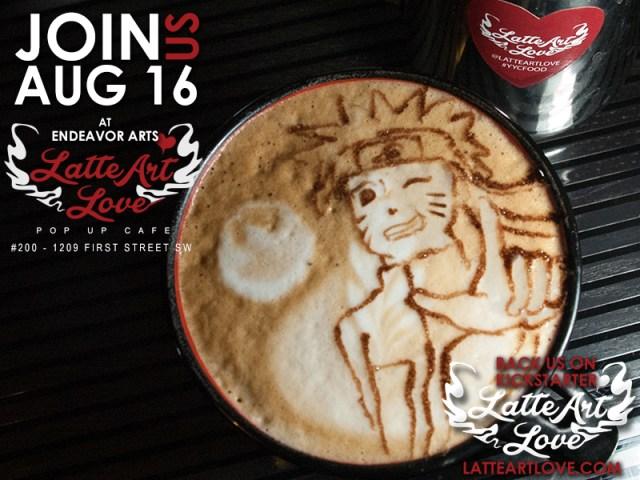 Latte Art - Naruto