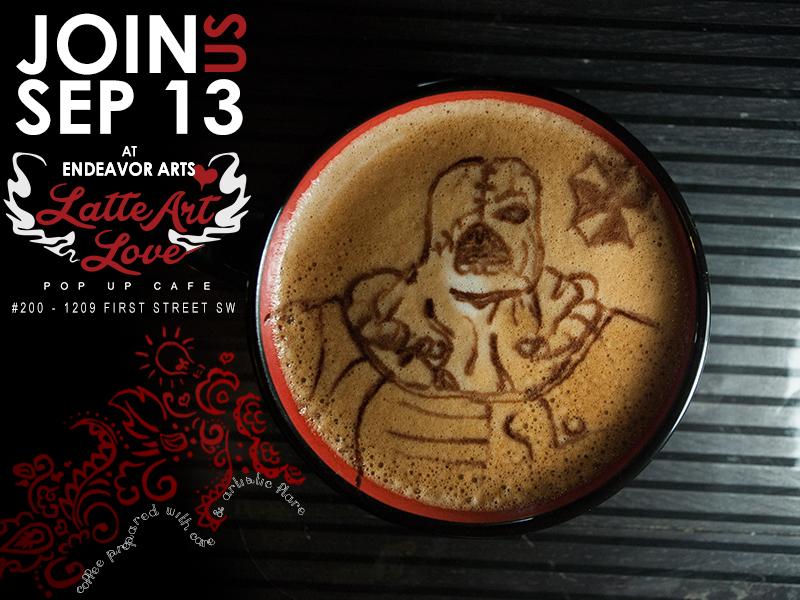 Latte Art Love - Resident Evil - Nemesis