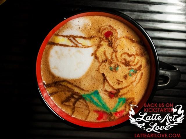 Latte Art- Sailor Moon