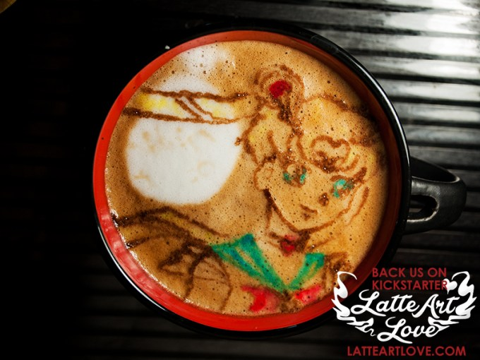 Latte Art- Sailor Moon