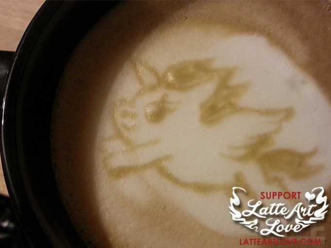 Latte Art - Unicorn