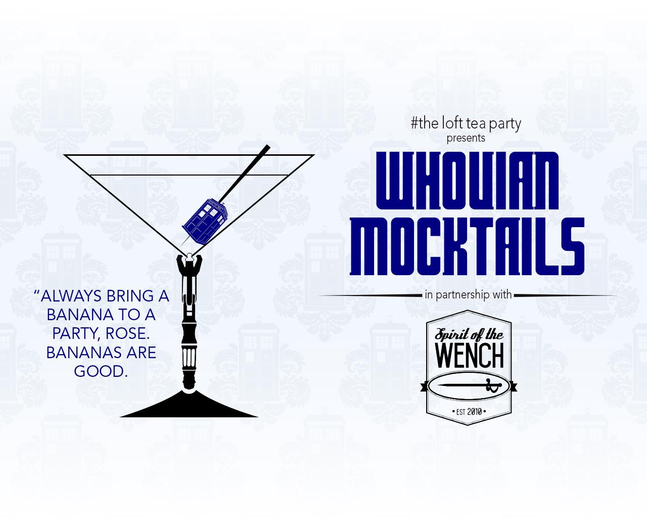 Whovian Mocktails September 2015