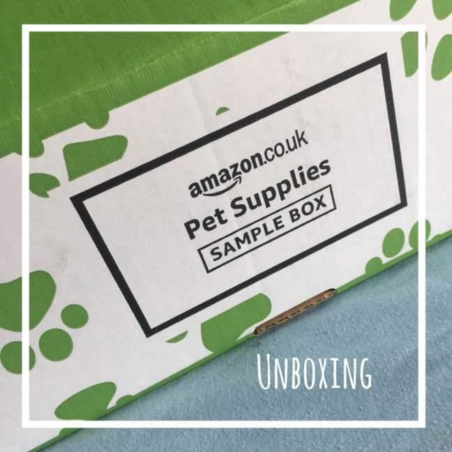 Amazon pet sample unboxing