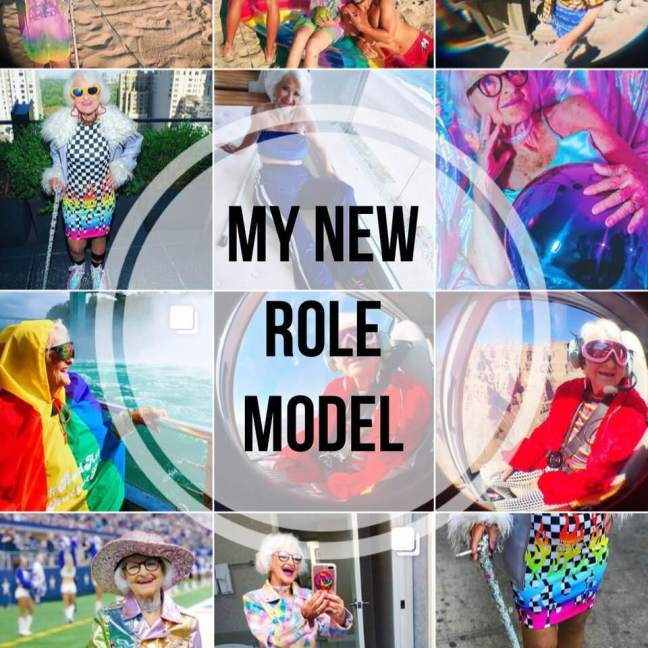 Baddie Winkle || My new role model