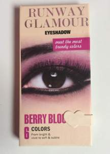 Profusion Runway Eye Collection glossy box uk unboxing
