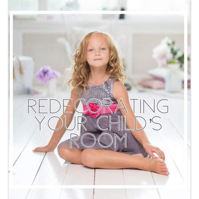 redecorating your childs room