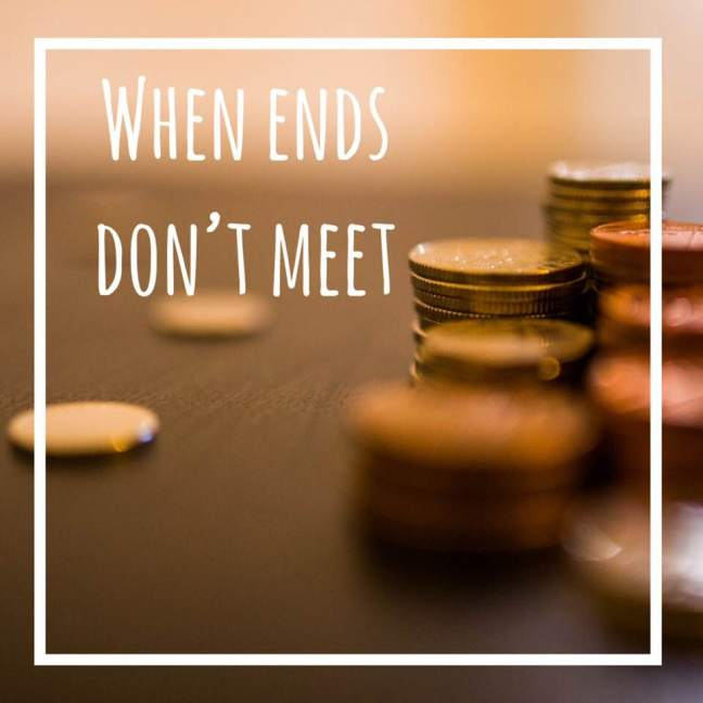 when ends don't meet \\ cash