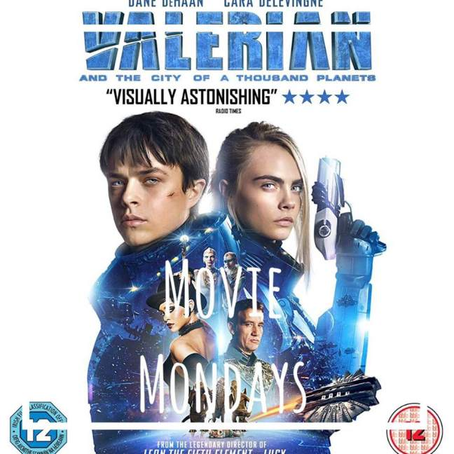 Valerian and the City of a Thousand Planets || Movie Mondays