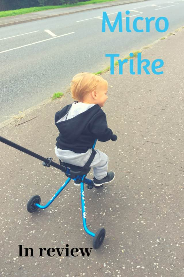 Micro Trike || In Review || Mommy bloggers