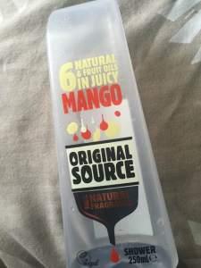 Original Source Shower Gel || Mango || The Beauty Edit || October 2018