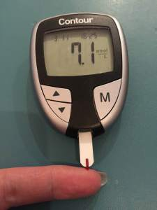 I kept an eye on my blood sugars for a week