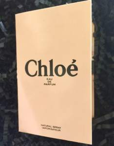 Chloe Eau De Parfum || Glossy Box UK November 2018 Unboxing