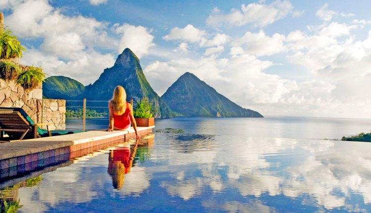 "Jade Mountain is the ""Best Caribbean Resort"""