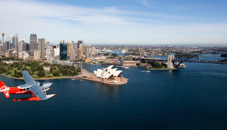 The treat of a lifetime with Sydney Seaplanes