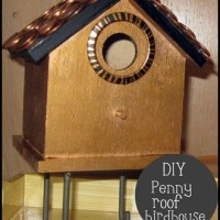 Penny Roof Birdhouse