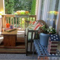 Front Porch & Summer Flower Pots
