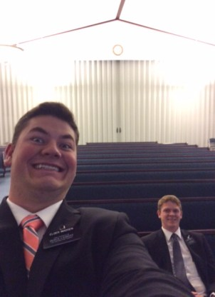 General Conference. Alone at the chapel!