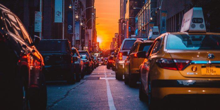 Taxi cab traffic
