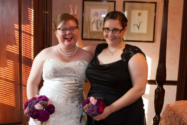 Me and the bride