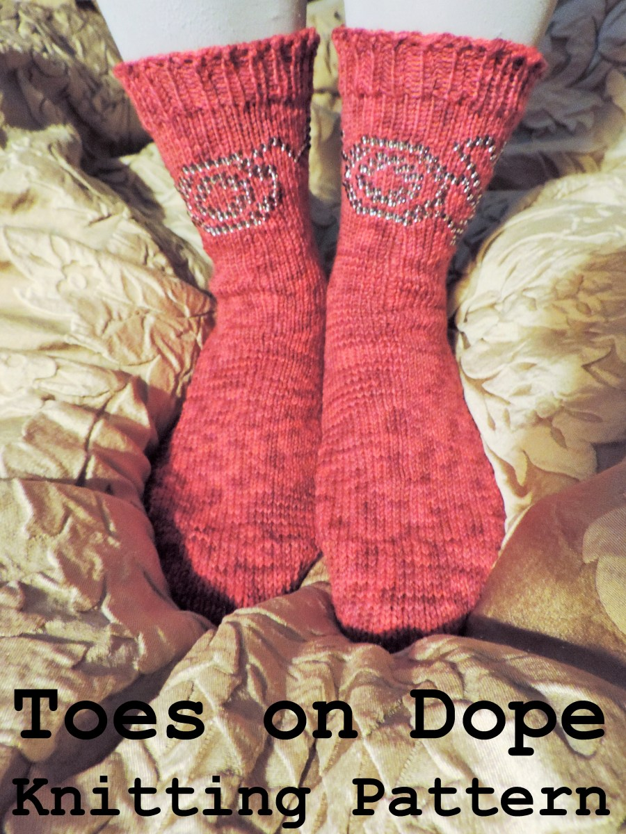 Toes on Dope Knitting Pattern