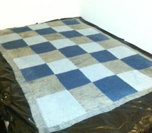 blocking a blanket