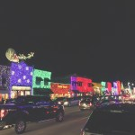 Christmas Date Night: Lights, Coffee Roasters, & A Giant Gingerbread Train