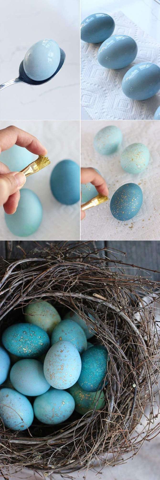 12 Creative Ways to Decorate Easter eggs....