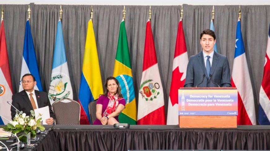 Trudeau Grupo Lima 2019