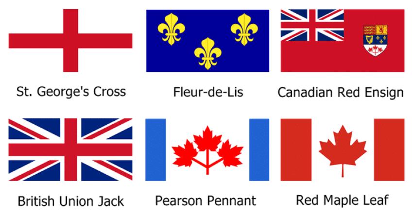 Banderas Canadá